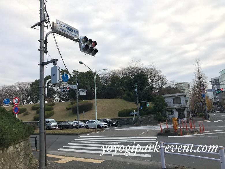 渋谷 青の洞窟イルミネーション