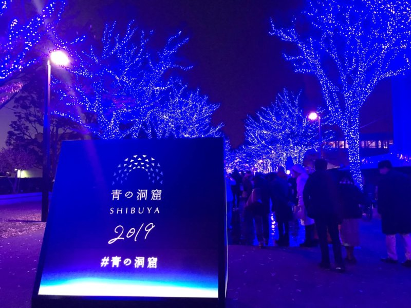 青の洞窟 渋谷 2019 Shibuya Blue Cave Illuminations