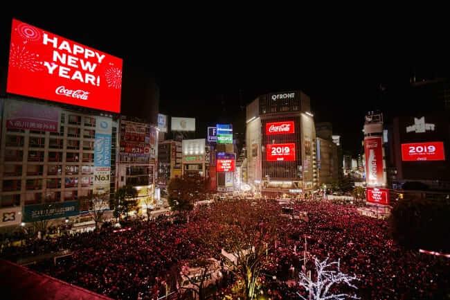 Shibuya Countdown 2019