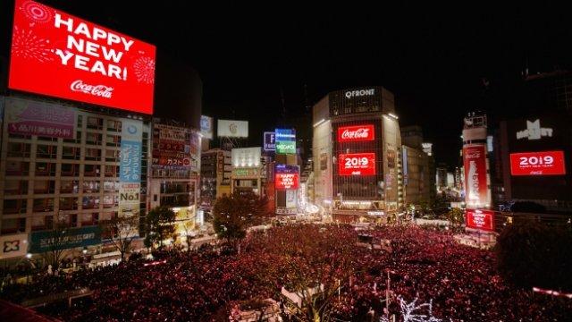 渋谷カウントダウン2019