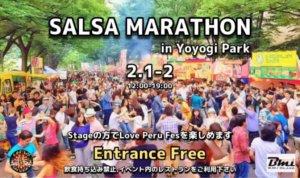 Salsa Marathon 2020 Yoyogi Park
